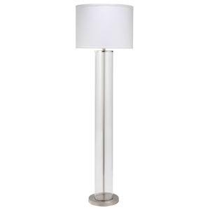Vanderbilt Nickel 64-Inch One-Light Floor Lamp
