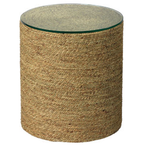 Harbor Natural Sea Grass Side Table
