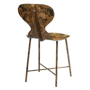 McCallan Acid Washed Metal Chair