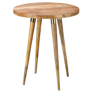 Owen Natural Wood Side Table