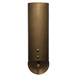 Olympic Antique Brass One-Light Wall Sconce