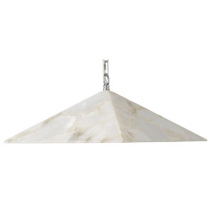 Borealis Alabaster 15-Inch One-Light Pendant