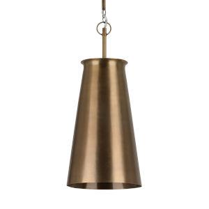 Nara Antique Brass One-Light Pendant