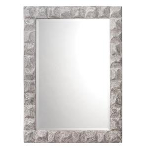 Astor Grey Plaster Mirror
