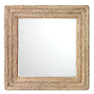 Evergreen Natural Square Mirror