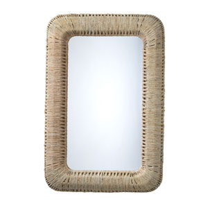 Hollis Natural Rectangle Wall Mirror