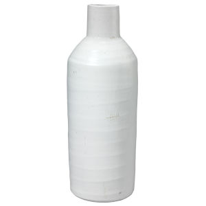 Dimple Matte White Ceramic  Carafe