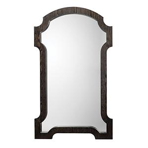 Estate Dark Gray Wood  Mirror