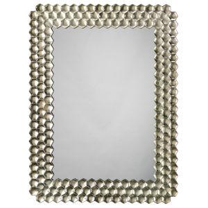 Honeycomb Champagne 30 x 40 Inch Mirror