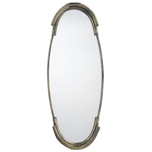 Margaux Antique Silver 17 x 45 Inch Mirror