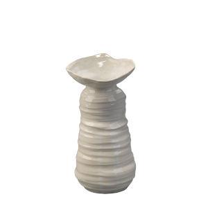 Marine Pearl Blue Ceramic 5.5-Inch Vase