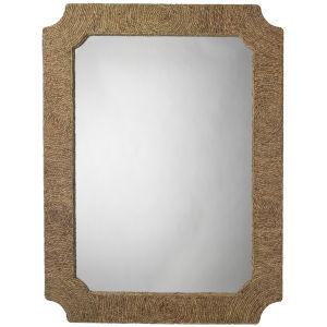 Marina Natural Seagrass 36 x 48 Inch Mirror