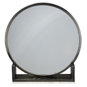 Odyssey Antique Iron and Marble Mirror