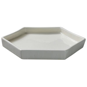 Porto White Ceramic 10-Inch Ceramic Serving Tray