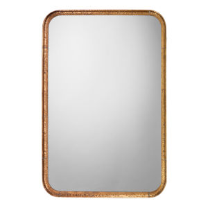 Principle Gold Leaf 24 x 36 Inch Mirror