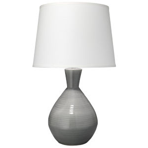 Ash Gray One-Light Table Lamp