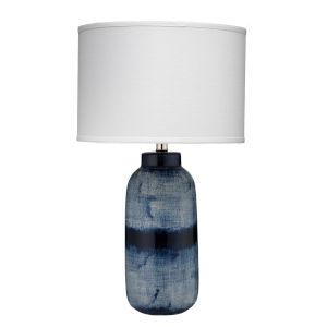 Batik Indigo 15-Inch One-Light Table Lamp