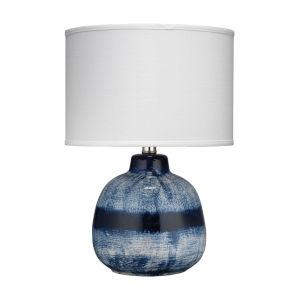 Batik Indigo 12-Inch One-Light Table Lamp