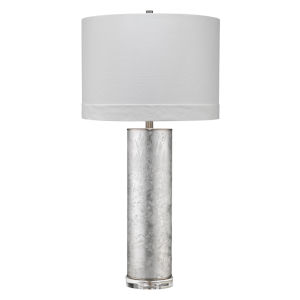 Silver Glass One-Light Table Lamp
