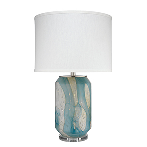 Helen Pale Blue One-Light Table Lamp