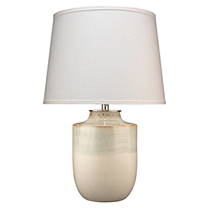 Lagoon Cream Ceramic Table Lamp