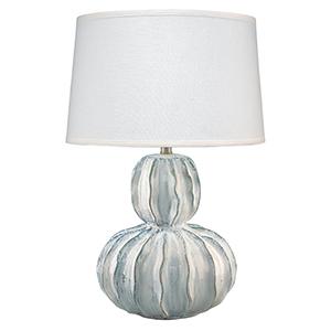 Oceane White Ceramic Table Lamp