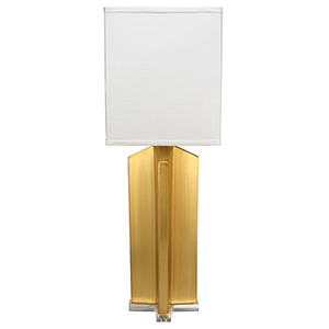 Quadrant Brass Table Lamp