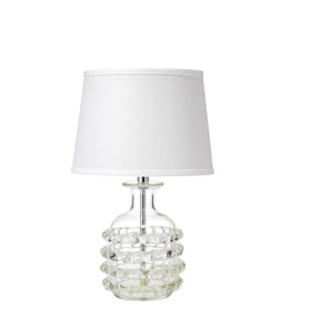 Ribbon Clear Glass 20-Inch One-Light Table Lamp