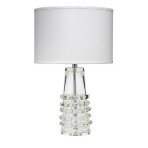 Ribbon Clear Glass 24-Inch One-Light Table Lamp