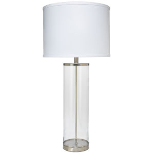 Rockefeller Nickel One-Light Table Lamp