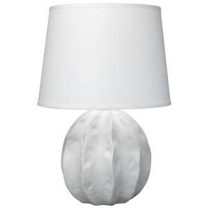 Urchin Matte White One-Light Table Lamp