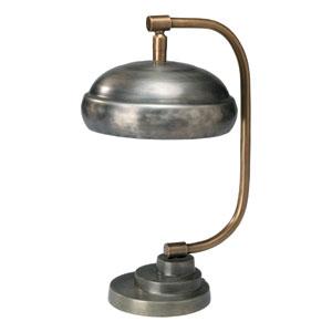 Steam Punk Gun Metal One-Light Table Lamp