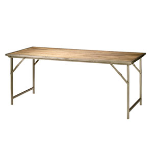 Campaign Folding Dining Table