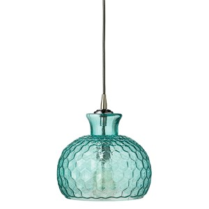 Clark Aqua One-Light Mini-Pendant