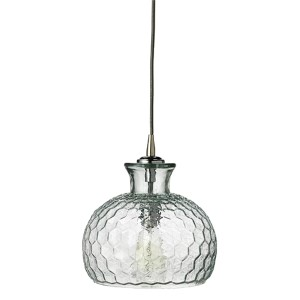 Clark Clear One-Light Mini-Pendant