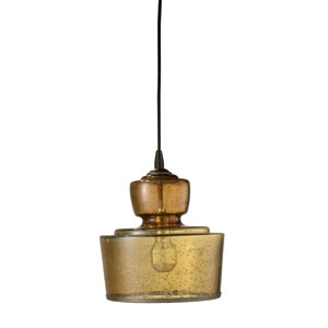 Lafitte Amber One-Light Pendant