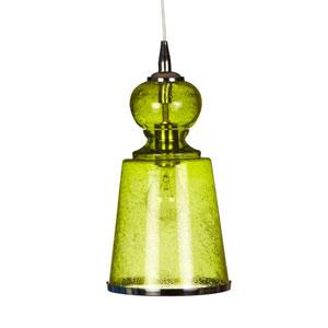Lafitte Celadon One-Light Long Mini Pendant