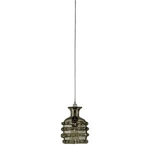 Ribbon Taupe One-Light Mini-Pendant