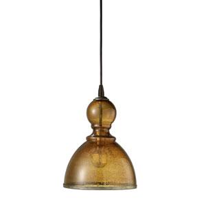 St Charles Amber One-Light Pendant