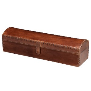 Chester Tobacco Leather Box
