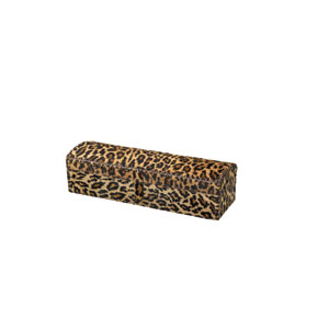 Chester Leopard Print Hide 5-Inch Box