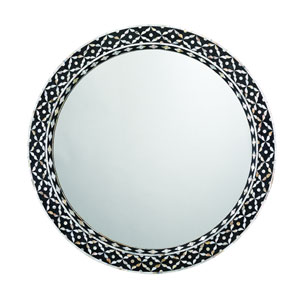 Evelyn Mother of Pearl Mirror