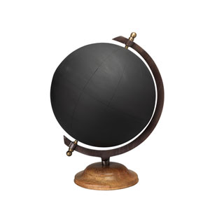 Large Chalk Board Globe