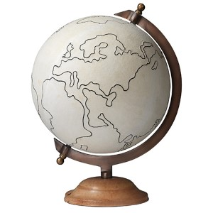 Canvas Large World Globe