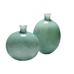 Minx Grey Glass Vase Set of Two