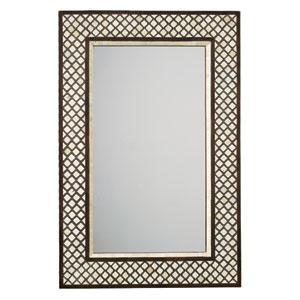 Mughal Bone Rectangle Mirror