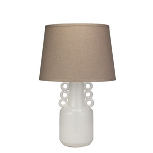 White 6-Inch One-Light Table Lamp