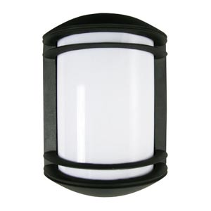 Powder Coated Black Energy Star Outdoor Wall Lantern with Photocell and Acrylic Lens