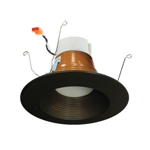 PRISM Bronze LED Smart Color Changing Retrofit Baffle Downlight