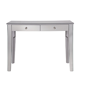 Contempo Hand Rubbed Antique Silver 42-Inch Vanity